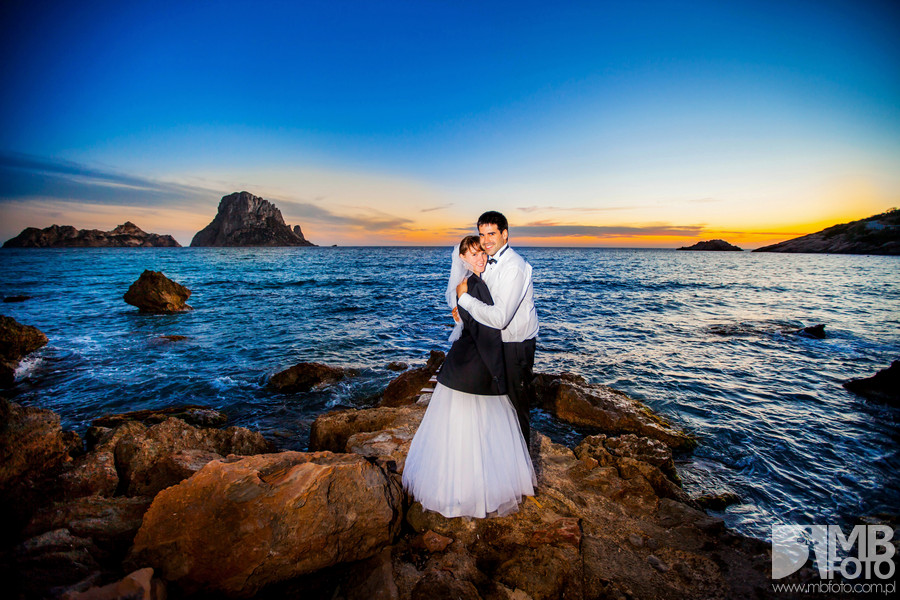 Ewa i Victor plener 139 Ewa i Victor | Ibiza | plener ślubny dzień 1
