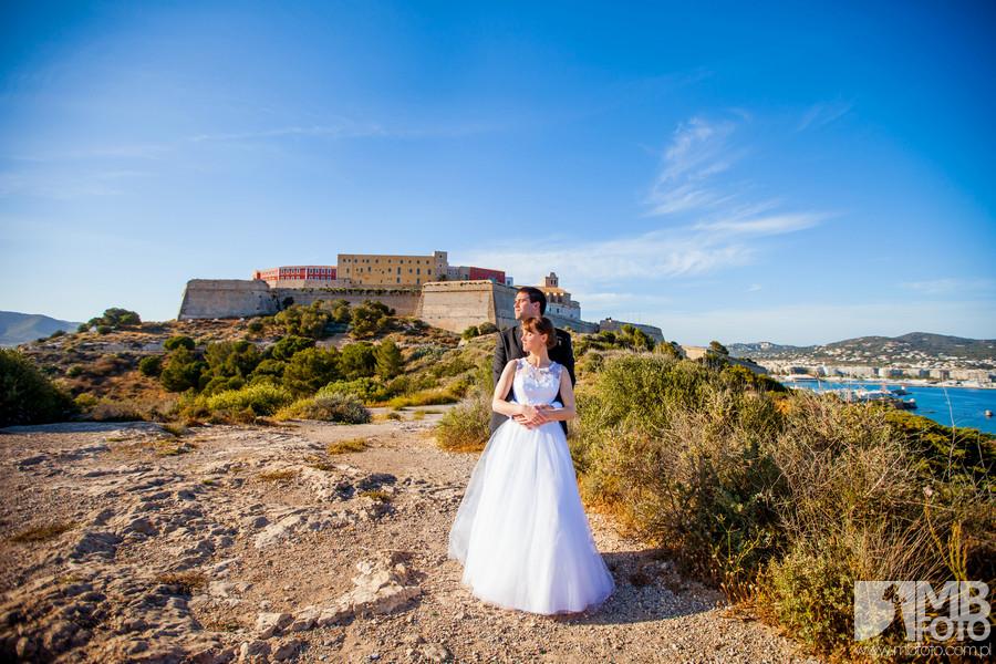 Ewa i Victor plener 96 Ewa i Victor | Ibiza | plener ślubny dzień 1