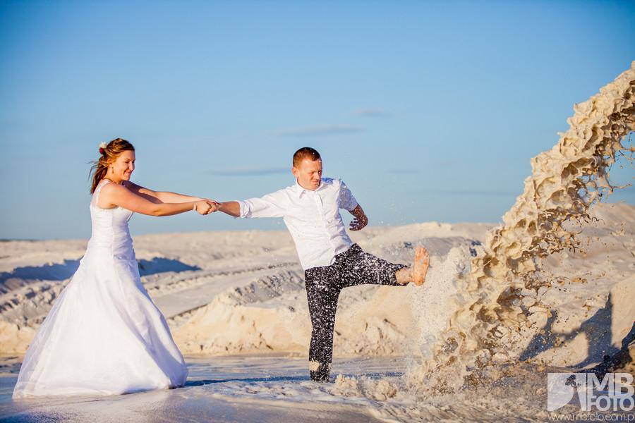 Paulina i Piotr plener 266 Paulina i Piotr | plener ślubny | Jelenia Góra | Kaolin