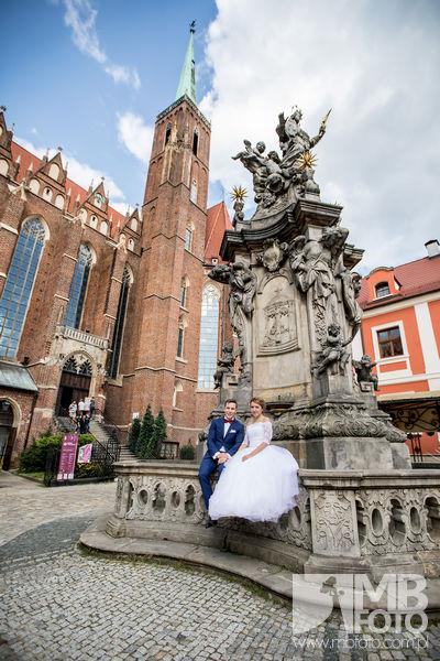 Kasia i Marcin plener 2 Kasia i Marcin   plener ślubny Wrocław