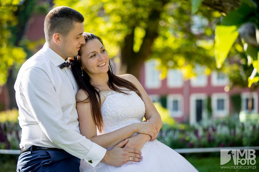 Marta i Szymon plener 104 Marta i Szymon | plener ślubny | zamek Bad Muskau | Most Rakotza w Kromlau