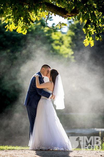 Marta i Szymon plener 108 Marta i Szymon | plener ślubny | zamek Bad Muskau | Most Rakotza w Kromlau