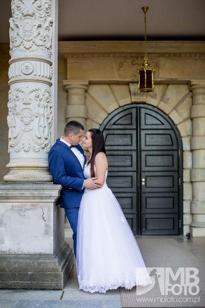 Marta i Szymon plener 157 Marta i Szymon | plener ślubny | zamek Bad Muskau | Most Rakotza w Kromlau