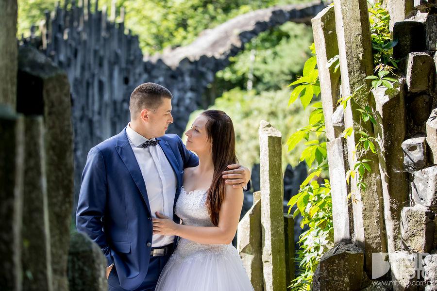 Marta i Szymon plener 35 Marta i Szymon | plener ślubny | zamek Bad Muskau | Most Rakotza w Kromlau