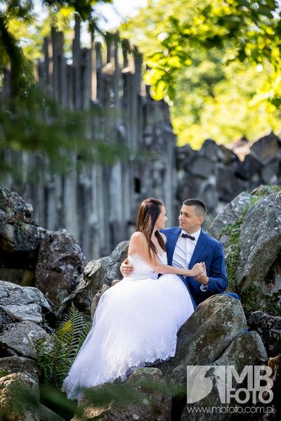 Marta i Szymon plener 39 Marta i Szymon | plener ślubny | zamek Bad Muskau | Most Rakotza w Kromlau