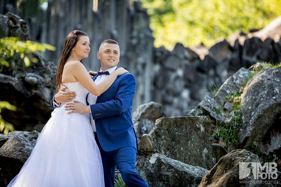 Marta i Szymon plener 42 Marta i Szymon | plener ślubny | zamek Bad Muskau | Most Rakotza w Kromlau