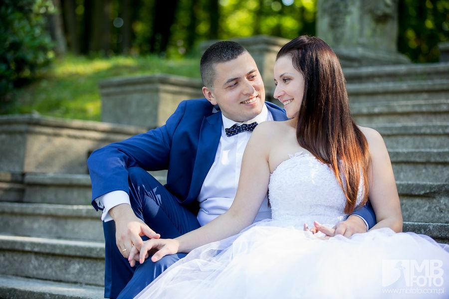 Marta i Szymon plener 47 Marta i Szymon | plener ślubny | zamek Bad Muskau | Most Rakotza w Kromlau