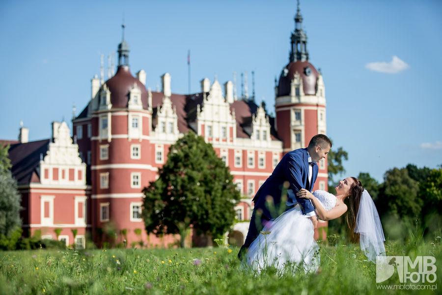 Marta i Szymon plener 65 Marta i Szymon | plener ślubny | zamek Bad Muskau | Most Rakotza w Kromlau