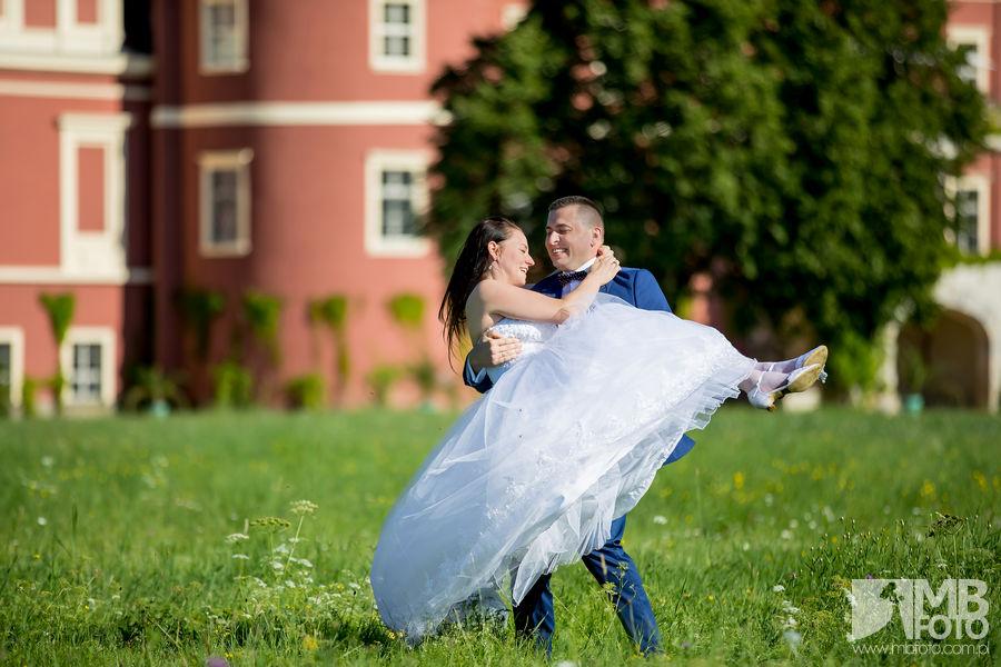 Marta i Szymon plener 68 Marta i Szymon | plener ślubny | zamek Bad Muskau | Most Rakotza w Kromlau