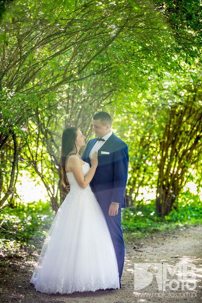 Marta i Szymon plener 73 Marta i Szymon | plener ślubny | zamek Bad Muskau | Most Rakotza w Kromlau