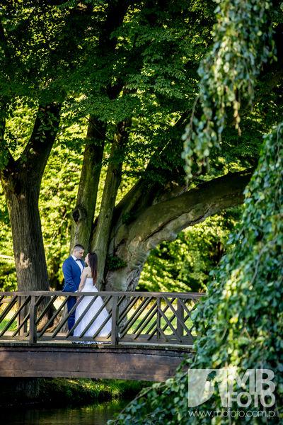 Marta i Szymon plener 78 Marta i Szymon | plener ślubny | zamek Bad Muskau | Most Rakotza w Kromlau