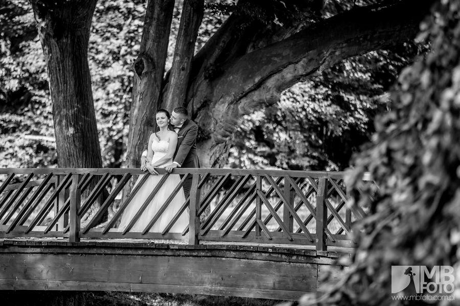 Marta i Szymon plener 80 Marta i Szymon | plener ślubny | zamek Bad Muskau | Most Rakotza w Kromlau