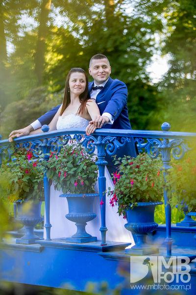 Marta i Szymon plener 89 Marta i Szymon | plener ślubny | zamek Bad Muskau | Most Rakotza w Kromlau