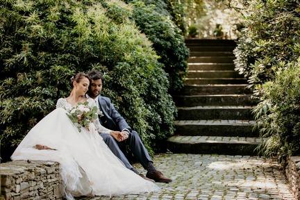 Kamila Mark plener 14 1 1 Kamila i Mark | plener ślubny | Arboretum Wojsławice